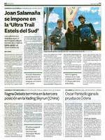 """Joan Salamaña se impone en la """"Ultra Trail Estels del Sud"""""""