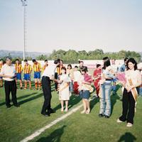 Pubilles al camp de futbol de Roquetes, any 2002