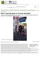 """Martí y Barreda ganan la """"Cursa de Benifallet"""""""