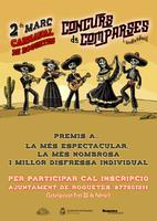 Carnaval de Roquetes: Concurs de comparses i individual. 2 de març de 2019