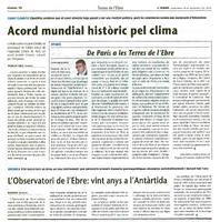 L'Observatori de l'Ebre: vint anys a l'Antàrtida