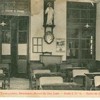 Seminari Menor de Sant Josep. Sala d'Estudi, 1931