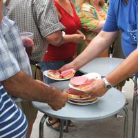 Berenar Popular a la Raval de Crist,  any 2007