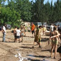 Festes Majors - Pista de fang, any 2007