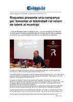 Roquetes presenta una campanya per fomentar el teletreball i el retorn de talent al municipi.