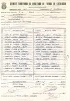 Acta de la Federació Catalana de Fútbol del partit disputat entre el CD Roquetenc i el CF Masdenverge, el 4 de març de 1990
