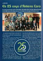 Els 25 anys d'Antena Caro