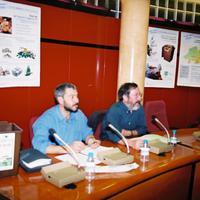 Xerrada sobre els residus a l'Ajuntament de Roquetes, any 2002