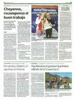 """Pau Marzà se impone en la primera edición de la """"Crono Caro"""""""