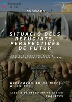 Situació dels refugiats, perspectives de futur.
