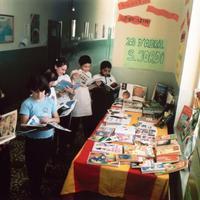 Sant Jordi a l'Escola Mestre Marcel·lí Domingo de Roquetes
