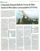 L'associació d'usuaris Guifi.net Terres de l'Ebre impulsa la fibra òptica a preus populars (15€/mes)