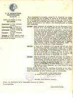 Acords de la Comissió Gestora del CD Roquetenc enviats a la FCF per a la seva resolució