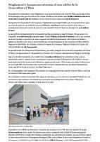 Puigdemont i Junqueras estrenen el nou edifici de la Generalitat a l'Ebre.