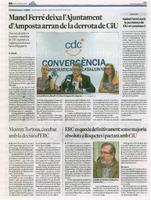 ERC es queda definitivament sense majoria absoluta a Roquetes i pactarà amb CiU