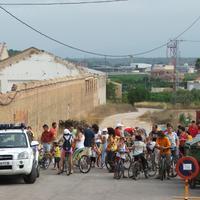 Bicicletada a les Festes Majors de la Raval de Cristo de l' any 2007