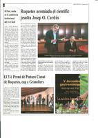 Roquetes acomiada el científic jesuïta Josep O. Cardús
