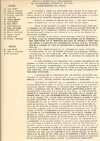 Acta de la reunió de la Junta Directiva del CD Roquetenc, celebrada el  23 d'agost de 1971