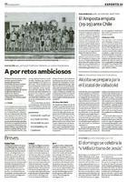 Alcoba se prepara para el Estatal de Valladolid
