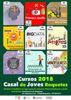 Cursos 2018. Casal de Joves Roquetes.