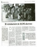 El retrobament de 28.392 alumnes
