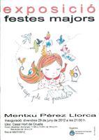 Exposició: Un cap ple de pardals de Mentxu Pérez-Llorca. Festes Majors de Roquetes, 2012