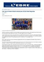 Inici de la Primera Divisió estatal per al Club Volei Roquetes.