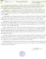 Comunicat del CD Roquetenc en relació als continguts que s'inclouran a la revista de Roquetes, 1984