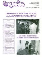 Roquetes: revista mensual d'informació local, número 121, octubre-novembre 1995