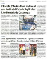 Disset esportistes catalans recorreran a l'agost 600 quilòmetres en sis dies, amb final a Roquetes, en favor del Banc d'Aliments.