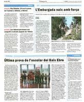 Pau Doñate, 17è en la prova de l'estatal a Alhama, a Múrcia