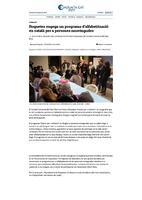 Roquetes engega un programa d'alfabetització en català per a persones nouvingudes.