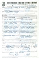 Acta de la Fundació Catalana de Futbol del partit entre CE Jesus i Maria i el CD Roquetes, el 26 d'abril de 1992