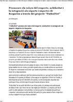 """Promoure els valors del respecte, solidaritat i la integració als xiquets i xiquetes de Roquetes a través del projecte """"FutbolNet"""""""