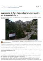 La proposta de Parc Nacional genera recels entre els alcaldes dels Ports