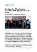 Jordi Jordan lidera la nova executiva d'ICV-Entesa Terres de l'Ebre