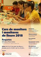 Curs de monitors de lleure 2018