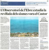 L'Observatori de l'Ebre estudia la revifada dels sismes vora el Castor