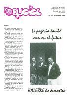 Roquetes: revista mensual d'informació local, número 111, desembre 1994