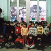 Alumnes de l'Escola Mestre Marcel·lí Domingo de Roquetes