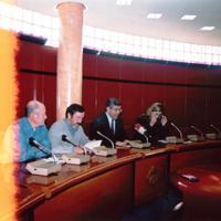 Presentació del llibre de l'Escola Taller '' Guia d'arbres de la ciutat de Roquetes ''