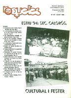 Roquetes: revista mensual d'informació local, número 107, agost 1994