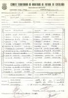 Acta de la Federació Catalana de Futbol del partit disputat entre el CF Benifallet i el CD Roquetenc, el 20 de desembre del 1987<br /><br />