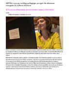 ARTRA crea un catàleg pedagògic perquè els alumnes coneguin la cultura ebrenca.