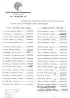 Llistat de jugadors de la plantilla dels equips d'alevins preferents