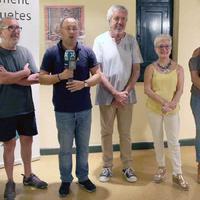 Els 25 anys del Tradicionàrius de Roquetes, plasmats en una exposició commemorativa.