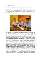 ERC de l'Ebre exigeix a CiU que trenque amb el PP pels atacs al català, però manté el pacte de Calaceit
