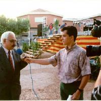 Entrevista al Pregoner de les Festes Majors de Roquetes de l'any 1993 a càrrec de Pau Tafalla Querol