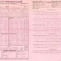 Acta de la Federació Catalana de Futból del partit disputat entre el UE Rapitenca i el CD Roquetes, el 25 de abril 2004