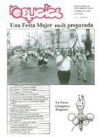 Roquetes: revista mensual d'informació local, número 82, juny, 1992.